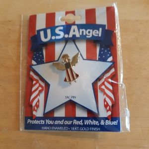 Jewelry - US Angle Tac Pin 18 kt